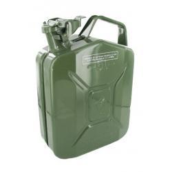 Jerrycan 5 liter groen staal