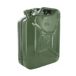 Jerrycan 20 liter groen staal