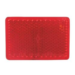 TP Reflector 55 x 38 mm rood