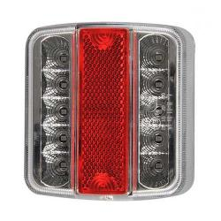 Achterlicht LED ECO Vierkant 001