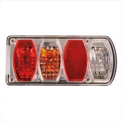 Achterlicht LED Rechthoek Rechts 002