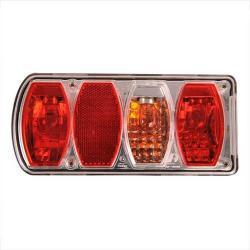 Achterlicht LED Rechthoek Links 002