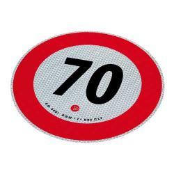 Markeringsbord 70 km/h