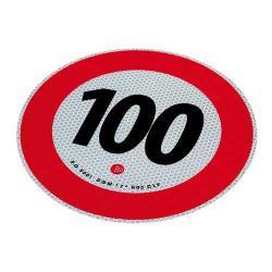 Markeringsbord 100 km/h