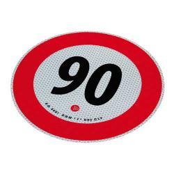 Markeringsbord 90 km/h