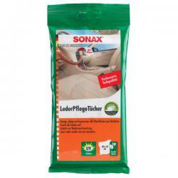 Sonax Leder Verzorgingsdoeken (10 stuks)