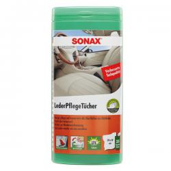 Sonax Lederenonderhoudsdoekjes (25x)