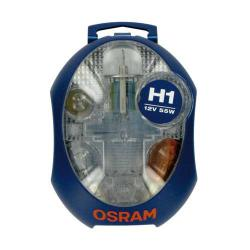 Osram Reservelampenset H1 (12 Volt)