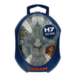 Osram Reservelampenset H7 (12 Volt)