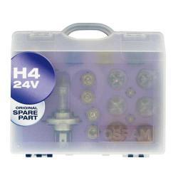 Osram Reservelampenset H4 (24 Volt)