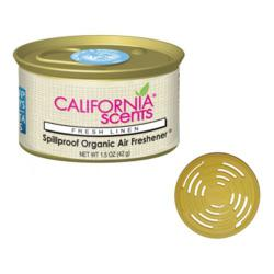 California Scents Luchtverfrisser Fresh Linnen