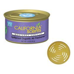 California Scents Luchtverfrisser Montery Vanilla