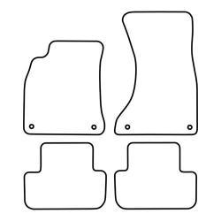 TCP Autospecifieke Pasvorm Automattenset Audi A4 (001)