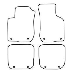 TCP Autospecifieke Pasvorm Automattenset Audi A3 (002)