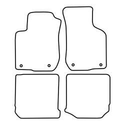 TCP Autospecifieke Pasvorm Automattenset Audi A3 (001)