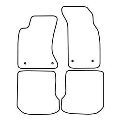 TCP Autospecifieke Pasvorm Automattenset Audi A4 (002)