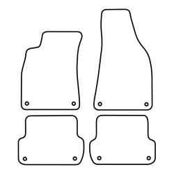 TCP Autospecifieke Pasvorm Automattenset Audi A4 (003)