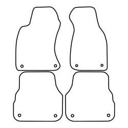 TCP Autospecifieke Pasvorm Automattenset Audi A6 (003)