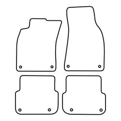 TCP Autospecifieke Pasvorm Automattenset Audi A6 (004)