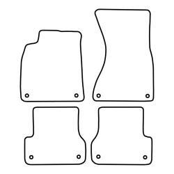 TCP Autospecifieke Pasvorm Automattenset Audi A6 (006)