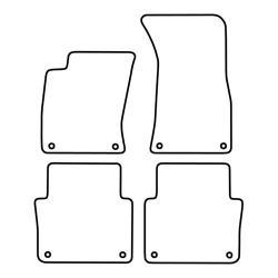 TCP Autospecifieke Pasvorm Automattenset Audi A8 (002)