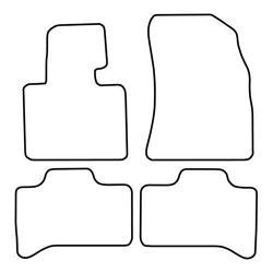 TCP Autospecifieke Pasvorm Automattenset BMW X5 (001)