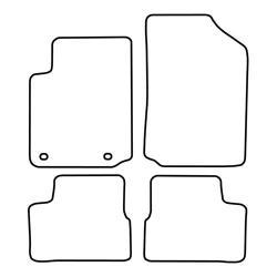TCP Autospecifieke Pasvorm Automattenset Citroën C3 (001)