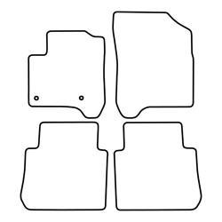 TCP Autospecifieke Pasvorm Automattenset Citroën C3 Picasso