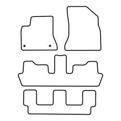 TCP Autospecifieke Pasvorm Automattenset Citroën C4 Picasso (002)