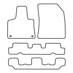 TCP Autospecifieke Pasvorm Automattenset Citroën C4 Picasso (004)