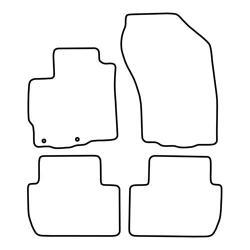 TCP Autospecifieke Pasvorm Automattenset Citroën Ccrosser