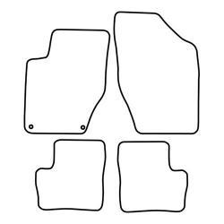 TCP Autospecifieke Pasvorm Automattenset Citroën DS4