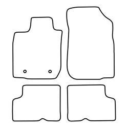 TCP Autospecifieke Pasvorm Automattenset Dacia Duster (001)