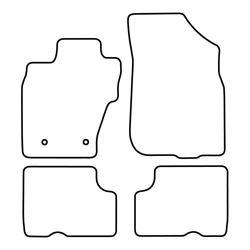 TCP Autospecifieke Pasvorm Automattenset Dacia Duster (002)