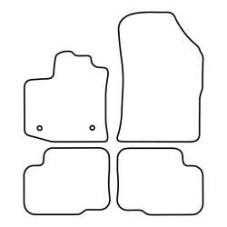 TCP Autospecifieke Pasvorm Automattenset Dacia Lodgy (001)