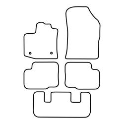 TCP Autospecifieke Pasvorm Automattenset Dacia Lodgy (002)