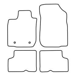 TCP Autospecifieke Pasvorm Automattenset Dacia Logan (001)