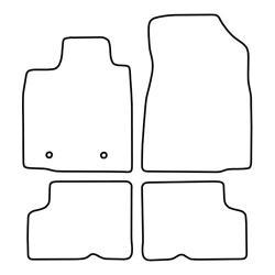 TCP Autospecifieke Pasvorm Automattenset Dacia Logan (002)