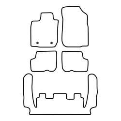 TCP Autospecifieke Pasvorm Automattenset Dacia Logan (003)