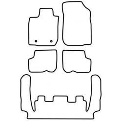 TCP Autospecifieke Pasvorm Automattenset Dacia Logan (004)