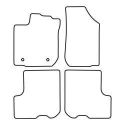 TCP Autospecifieke Pasvorm Automattenset Dacia Logan (005)