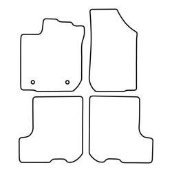 TCP Autospecifieke Pasvorm Automattenset Dacia Sandero (002)