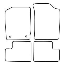 TCP Autospecifieke Pasvorm Automattenset Daihatsu Cuore (002)