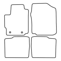 TCP Autospecifieke Pasvorm Automattenset Daihatsu Materia