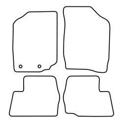 TCP Autospecifieke Pasvorm Automattenset Daihatsu Sirion (001)