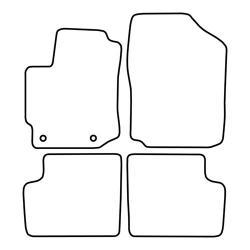 TCP Autospecifieke Pasvorm Automattenset Daihatsu Sirion (002)