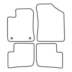 TCP Autospecifieke Pasvorm Automattenset Daihatsu Trevis