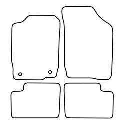 TCP Autospecifieke Pasvorm Automattenset Daihatsu YRV