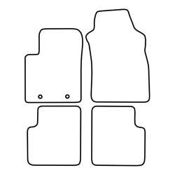 TCP Autospecifieke Pasvorm Automattenset Fiat 500 (002)