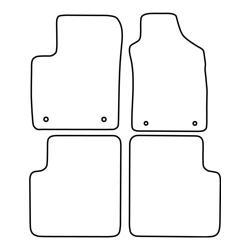 TCP Autospecifieke Pasvorm Automattenset Fiat 500 (006)